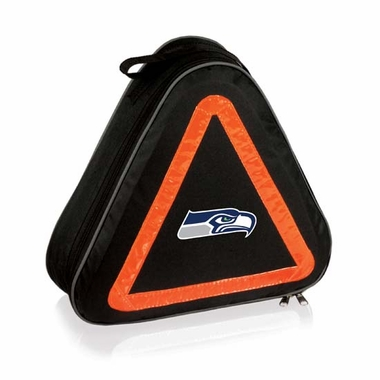 Seattle Seahawks Roadside Emergency Kit (Black)