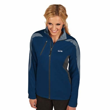 Seattle Seahawks Womens Discover Jacket (Color: Navy)