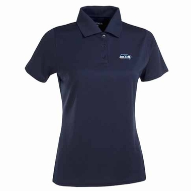 Seattle Seahawks Womens Exceed Polo (Color: Navy)