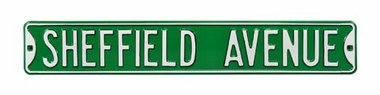 Sheffield Avenue Street Sign