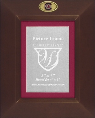 South Carolina BROWN Portrait Picture Frame