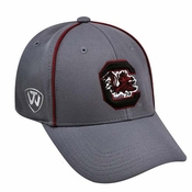 new concept d12ef e9eaf South Carolina Gamecocks Top of the World Linemen Memory Fit Hat - Gray