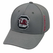 new style 53e2b dc2e6 South Carolina Gamecocks TOW Booster Plus Memory Fit Flex Hat - Charcoal