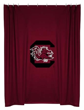 South Carolina Jersey Material Shower Curtain