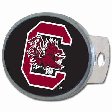 South Carolina Oval Metal Hitch Cover