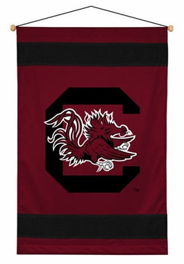 South Carolina SIDELINES Jersey Material Wallhanging