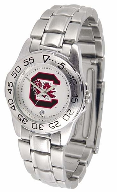 South Carolina Sport Women's Steel Band Watch