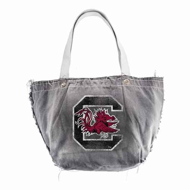 South Carolina Vintage Tote (Black)