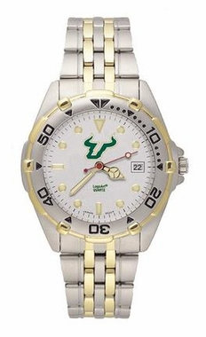 South Florida All Star Mens (Steel Band) Watch