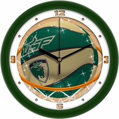 South Florida Slam Dunk Wall Clock