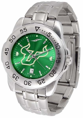 South Florida Sport Anonized Men's Steel Band Watch