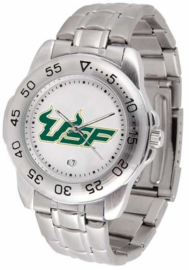 South Florida Sport Men's Steel Band Watch