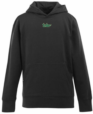 South Florida YOUTH Boys Signature Hooded Sweatshirt (Color: Black)