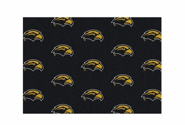 "Southern Miss 3'10"" x 5'4"" Premium Pattern Rug"