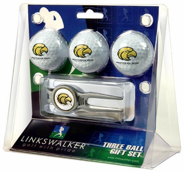 Southern Miss 3 Ball Gift Pack With Kool Tool