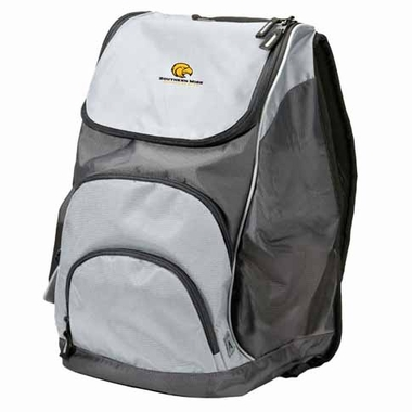 Southern Miss Action Backpack (Color: Silver)