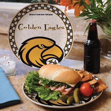 Southern Miss Gameday Ceramic Plate
