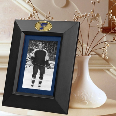 St Louis Blues BLACK Portrait Picture Frame