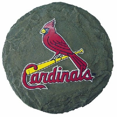 """St Louis Cardinals 13.5"""" Stepping Stone"""