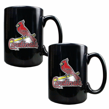 St Louis Cardinals 2 Piece Coffee Mug Set