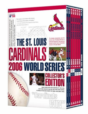 St Louis Cardinals 2006 World Series Collector's Edition DVDs