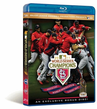 St. Louis Cardinals 2011 W.S. Champs Blu Ray DVD