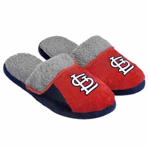 St. Louis Cardinals 2012 Sherpa Slide Slippers - Large