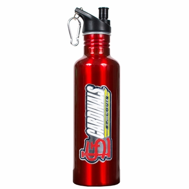 St Louis Cardinals 26oz Stainless Steel Water Bottle (Team Color)