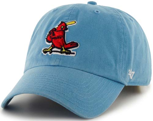 new style c8bb4 6b22b ... usa st. louis cardinals 47 brand cooperstown clean up adjustable hat  f4314 fa4f3