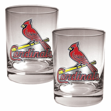 St Louis Cardinals Double Rocks Set