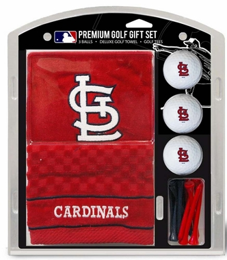 St Louis Cardinals Embroidered Towel Golf Gift Set