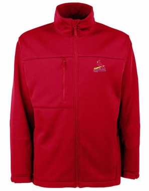 St Louis Cardinals Mens Traverse Jacket (Color: Red)
