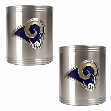 Los Angeles Rams 2 Can Holder Set