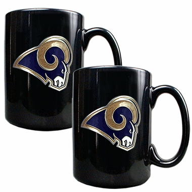 Los Angeles Rams 2 Piece Coffee Mug Set