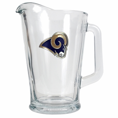 Los Angeles Rams 60 oz Glass Pitcher