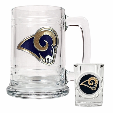 Los Angeles Rams Boilermaker Set