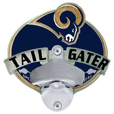 Los Angeles Rams Bottle Opener Hitch Cover