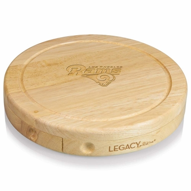 Los Angeles Rams Brie Cheese Board