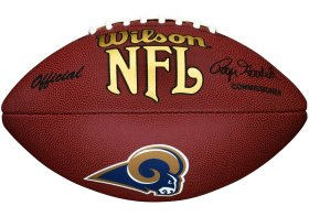 Los Angeles Rams Composite Wilson Football