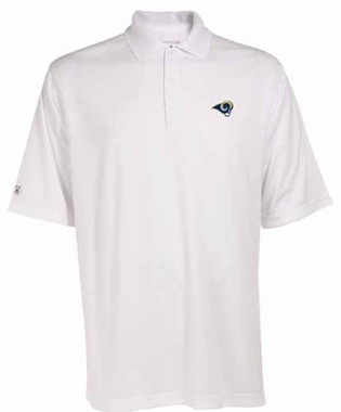 Los Angeles Rams Mens Exceed Polo (Color: White)