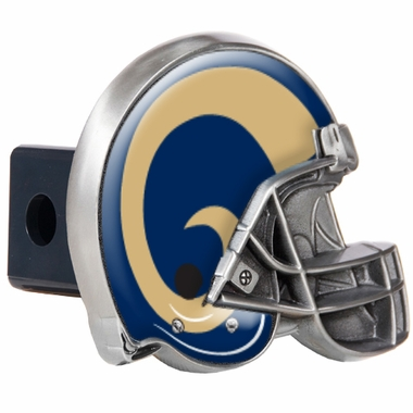 Los Angeles Rams Metal Helmet Trailer Hitch Cover