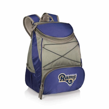 Los Angeles Rams PTX Backpack Cooler (Navy)