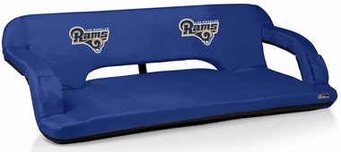 Los Angeles Rams Reflex Travel Couch (Navy)