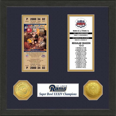 St. Louis Rams St.Louis Rams SB Championship Ticket Collection