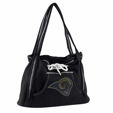 Los Angeles Rams Sport Noir Hoodie Purse