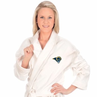 Los Angeles Rams UNISEX Bath Robe (White)