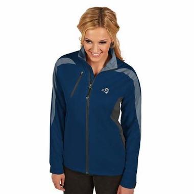 Los Angeles Rams Womens Discover Jacket (Color: Navy)