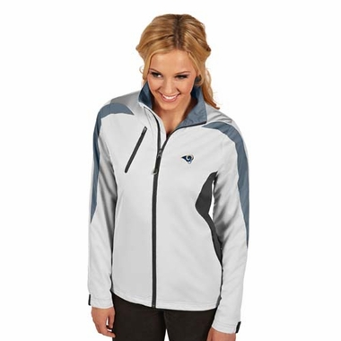 Los Angeles Rams Womens Discover Jacket (Color: White)