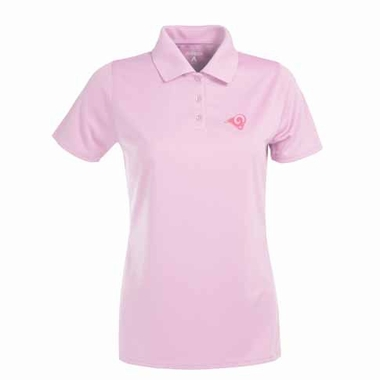Los Angeles Rams Womens Exceed Polo (Color: Pink)