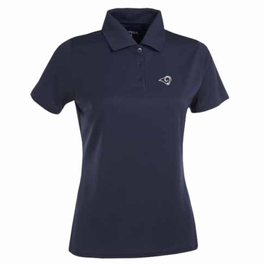 Los Angeles Rams Womens Exceed Polo (Color: Navy)